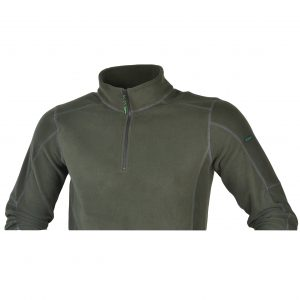 Ridgeline Norwegian Half Zipped Fleece Top | OliveRidgeline Norwegian Half Zipped Fleece Top | Olive